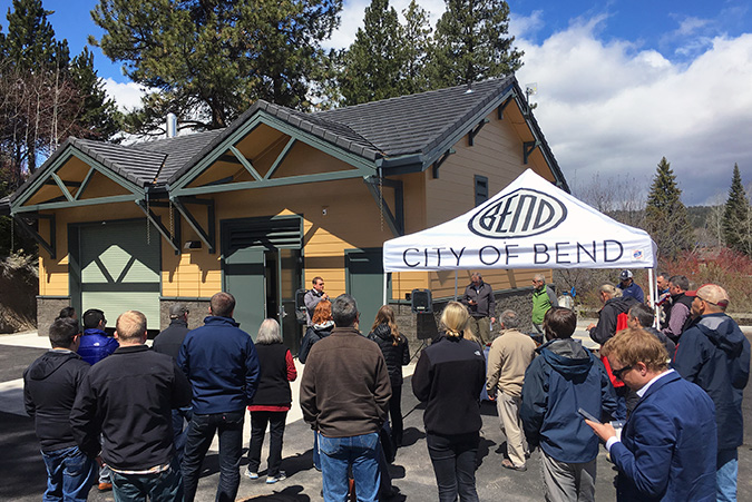 Ribbon Cutting! Bend's Colorado Lift Station