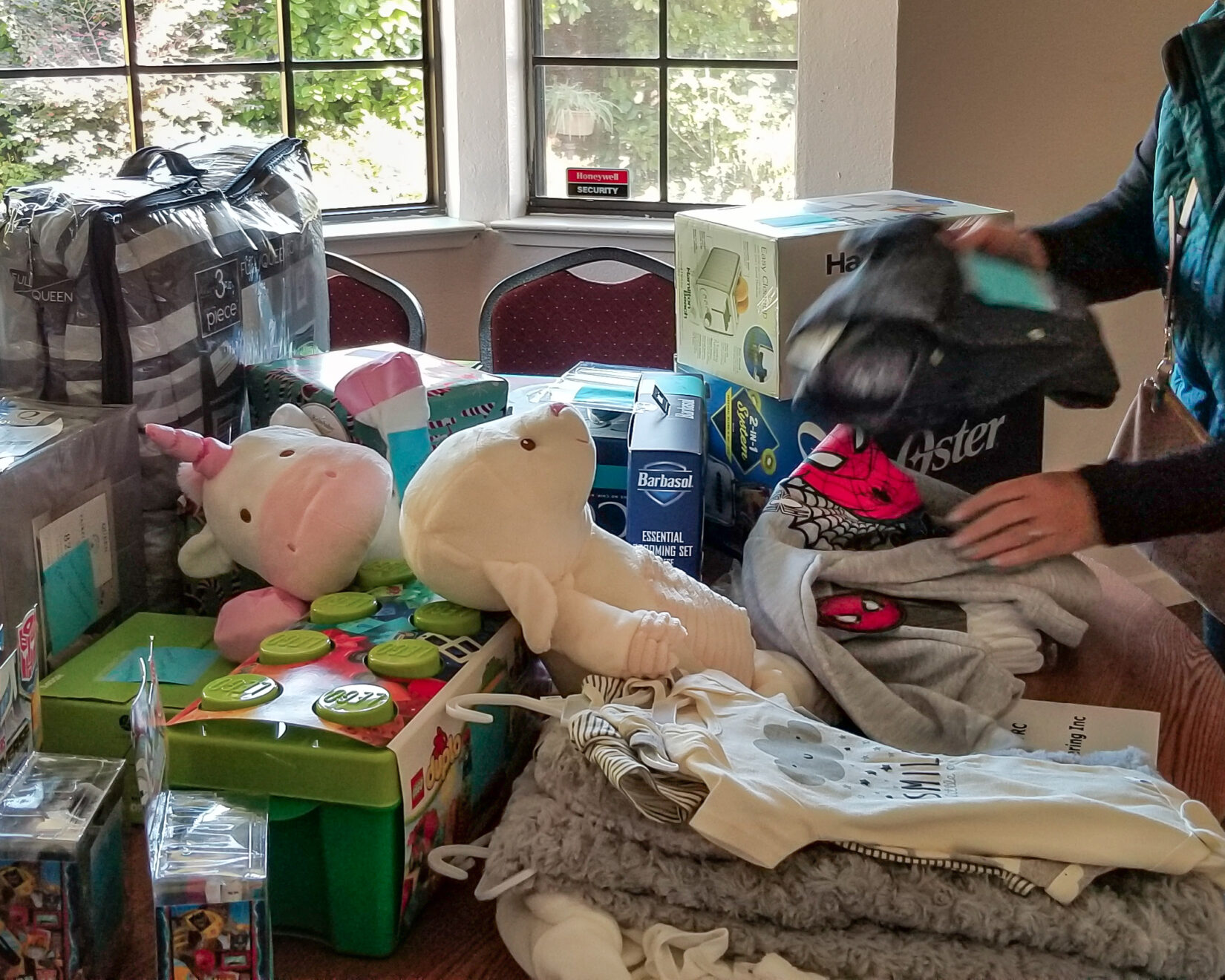 Giving to the Children's Home