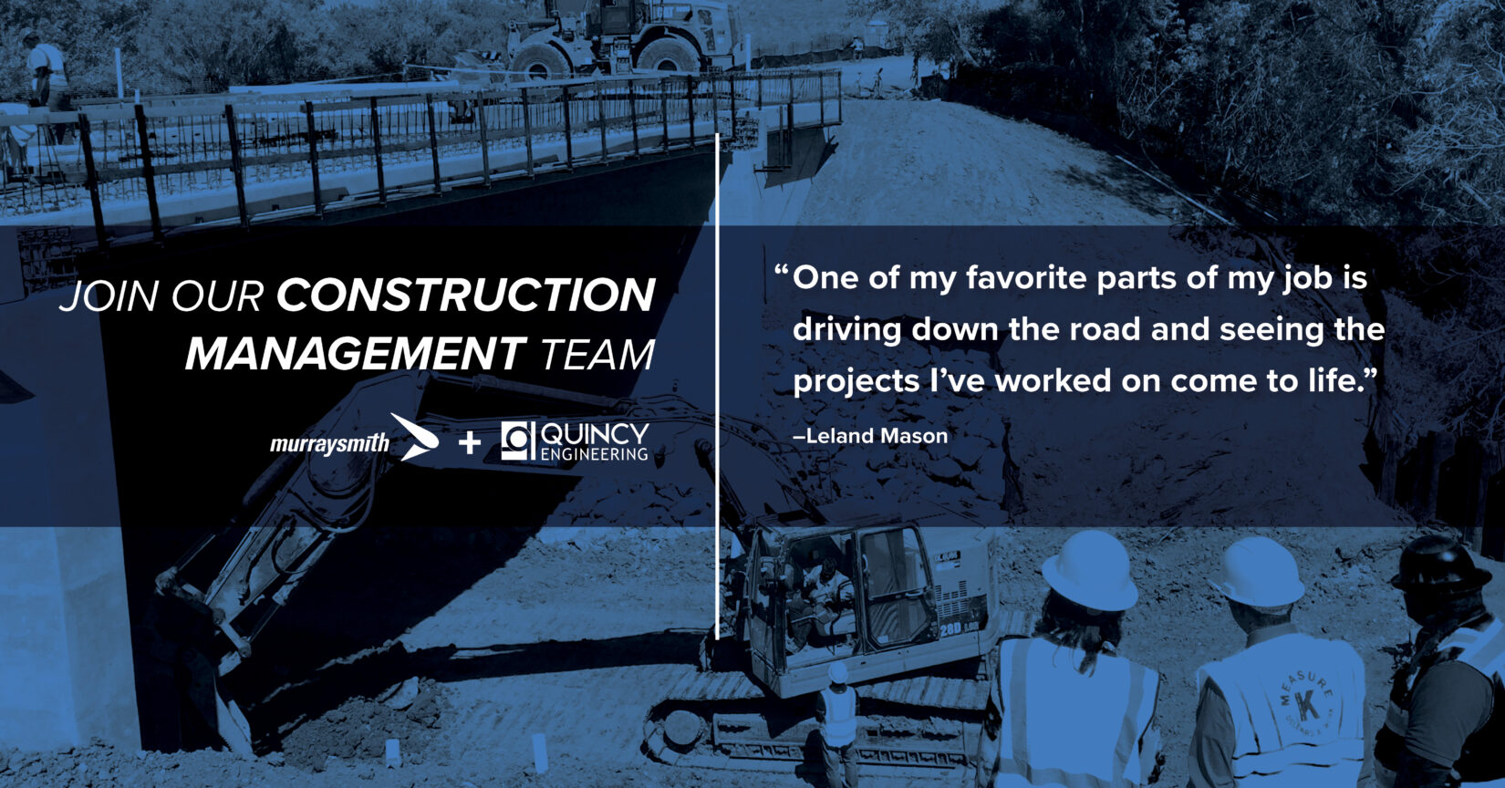 Two Reasons Construction Manager Leland Mason Loves His Job (Did We Mention We're Hiring?)